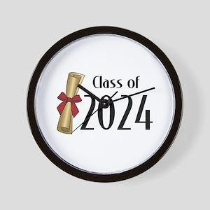 Class of 2024 Diploma Wall Clock