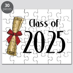 Class of 2025 Diploma Puzzle