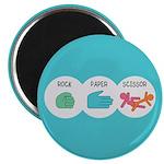 Rock Paper Scissor Magnet
