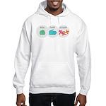 Rock Paper Scissor Hooded Sweatshirt