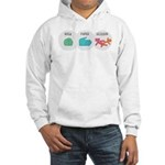 Rock Paper Scissor Hooded Sweatshirt