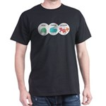 Rock Paper Scissor Dark T-Shirt