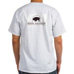 Bison Records Company Logo T-Shirt