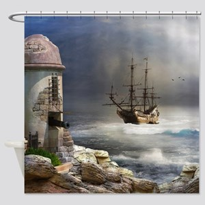 Pirate Bay Shower Curtain