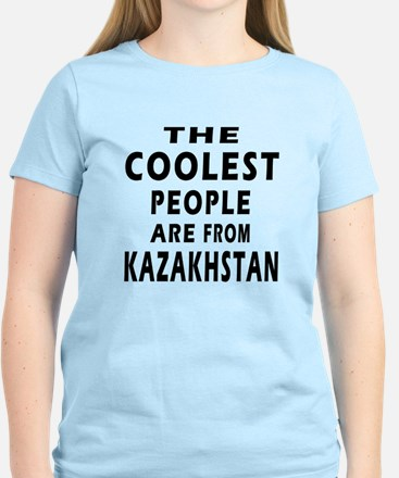 The Coolest Kazakhstan Designs Women's Light T-Shi