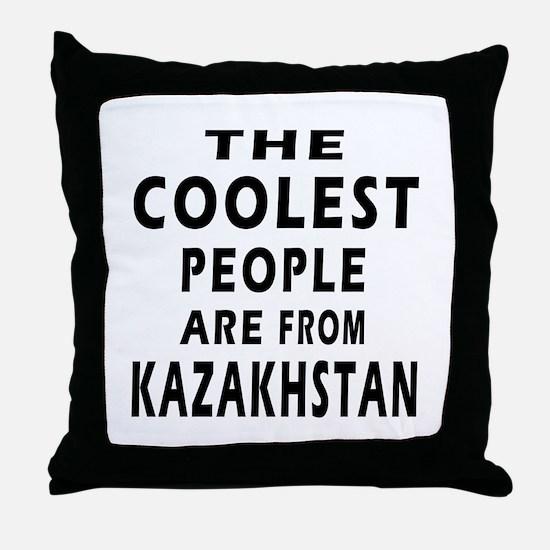 The Coolest Kazakhstan Designs Throw Pillow