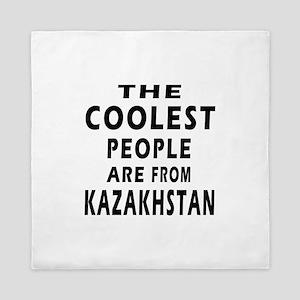 The Coolest Kazakhstan Designs Queen Duvet