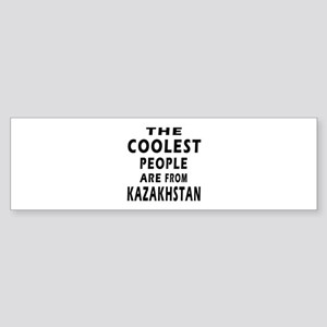 The Coolest Kazakhstan Designs Sticker (Bumper)