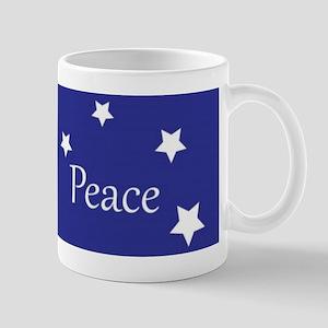 dove christmas peace Mug