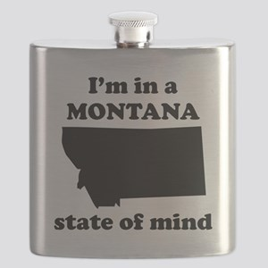 Im In A Montana State Of Mind Flask