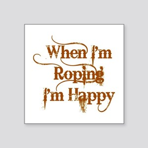 Roping Sticker