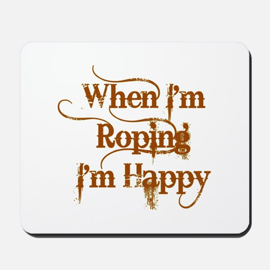 Roping Mousepad