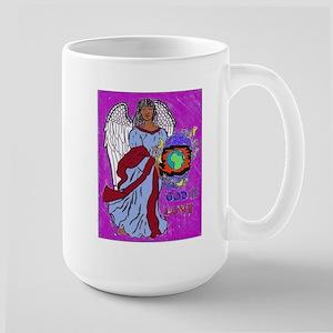 Black Angel Large Mug Mugs