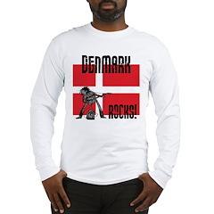Denmark Rocks Long Sleeve T-Shirt