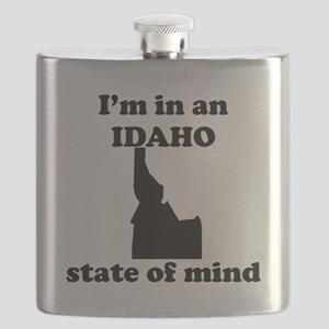 Im In An Idaho State Of Mind Flask