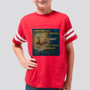 stoptheblmT Youth Football Shirt