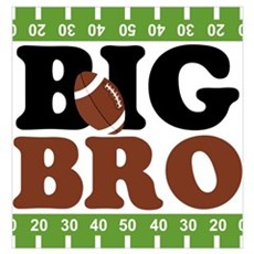 Football Big Brother Wall Art Poster