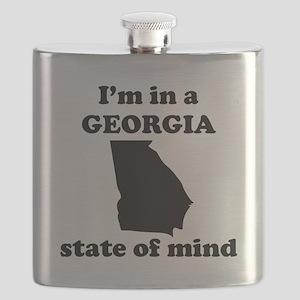 Im In A Georgia State Of Mind Flask