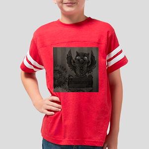 Steampunk Owl Youth Football Shirt