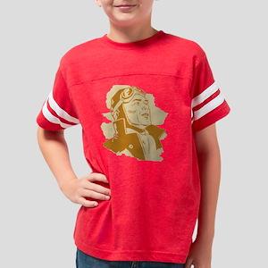 pilot_black Youth Football Shirt