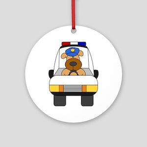 Puppy Patrol Ornament (Round)
