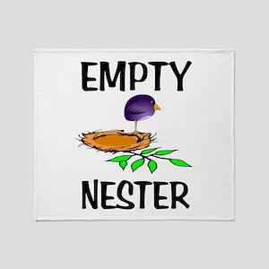 EMPTY NESTER Throw Blanket