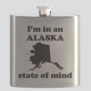 Im In An Alaska State Of Mind Flask