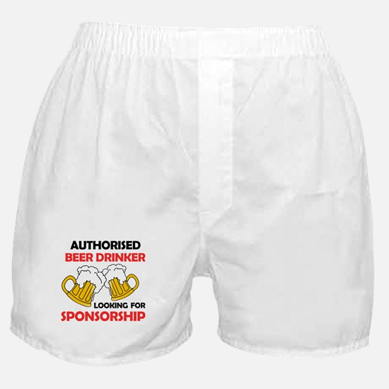 Beer Drinker Boxer Shorts