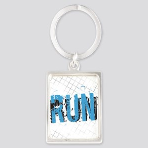 Grunge Run Keychains