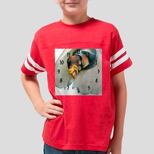 vulture bird clock (c)drk Youth Football Shirt