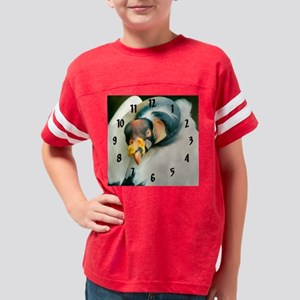 vulture bird clock closeup(c) Youth Football Shirt