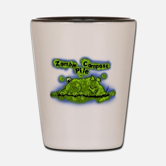 Zombie Compost Pile Shot Glass