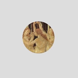 Primavera by Botticelli Mini Button