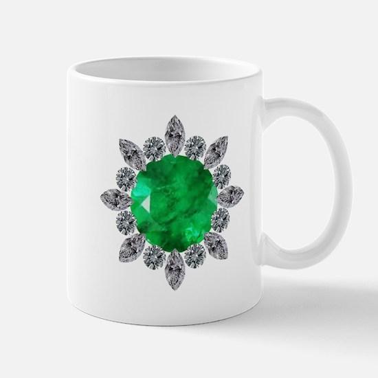 brooch-3-emerald-8-15-2013 Mug