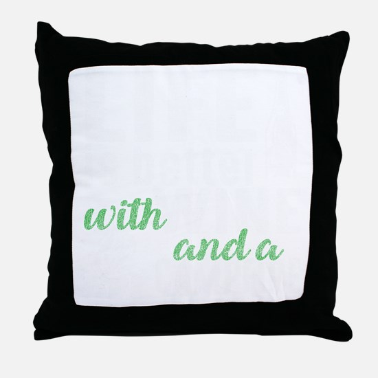 Cute Bonfire Throw Pillow