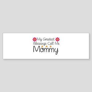 Blessings Mommy Sticker (Bumper)