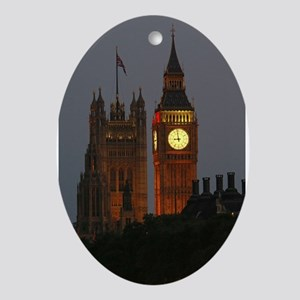 Stunning! BIG Ben London Pro Photo Ornament (Oval)
