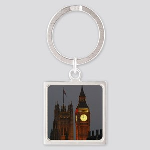 Stunning! BIG Ben London Pro Photo Square Keychain