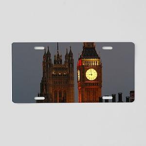 Stunning! BIG Ben London Pr Aluminum License Plate