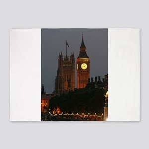Stunning! BIG Ben London Pro Photo 5'x7'Area Rug