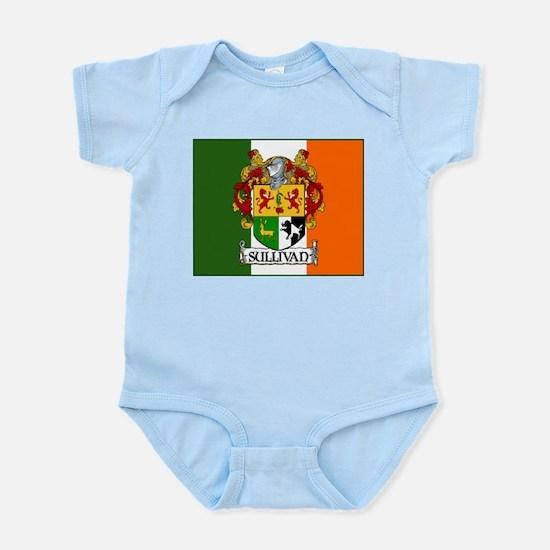 Sullivan Arms Flag Infant Bodysuit