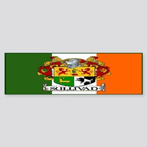 Sullivan Arms Flag Bumper Sticker