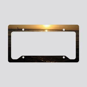 Fading Rays License Plate Holder