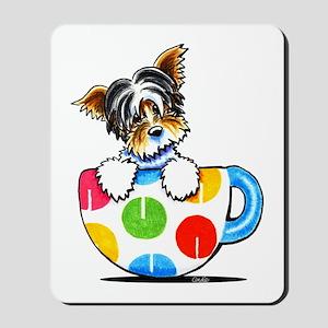 Biewer Yorkie Cup Mousepad