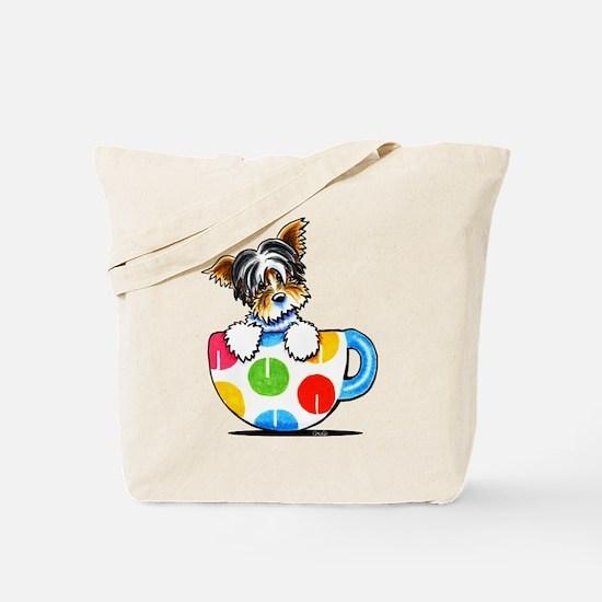 Biewer Yorkie Cup Tote Bag