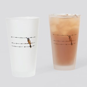 Bird on a Wire Drinking Glass