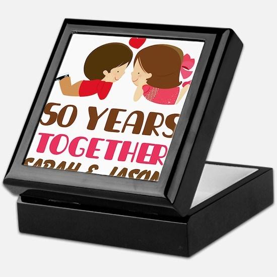 50 Year Anniversary 50th Gift Personalized Keepsak