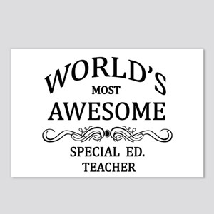 World's Most Awesome Special Ed. Teacher Postcards