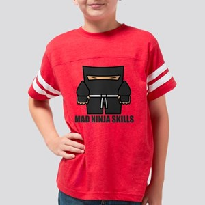 thickninja Youth Football Shirt