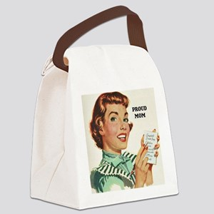 Proud Mother Canvas Lunch Bag